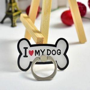 I ❤️ My Dog Phone Ring   Rotates 360°